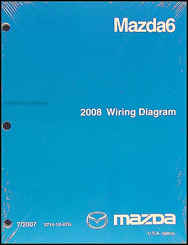 2008 mazda 6 wiring diagram original. Black Bedroom Furniture Sets. Home Design Ideas
