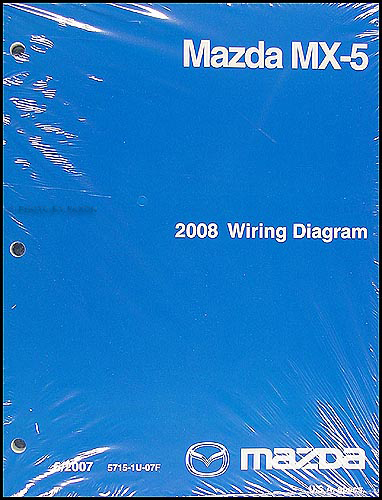 2008    Mazda    MX5    Miata       Wiring       Diagram    Original