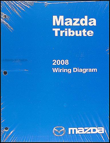 2008 mazda tribute wiring diagram original