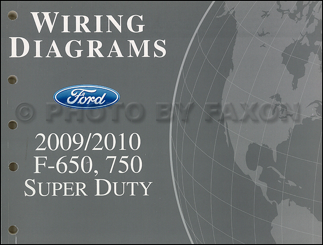 2009 2010 ford f650 f750 medium truck wiring diagram manual original rh faxonautoliterature com 2006 ford f750 wiring diagram 2011 ford f750 wiring diagram