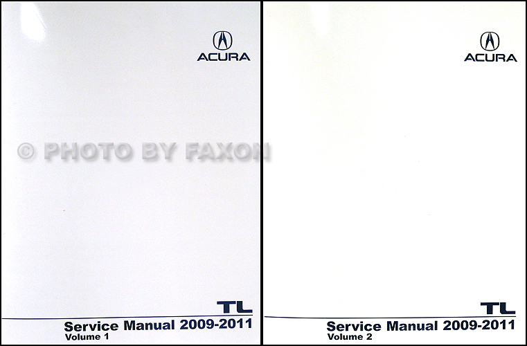 2009 2011 acura tl repair shop manual original 2 volume set rh faxonautoliterature com 2004 acura tl service manual 2004 Acura TL Manual Transmission