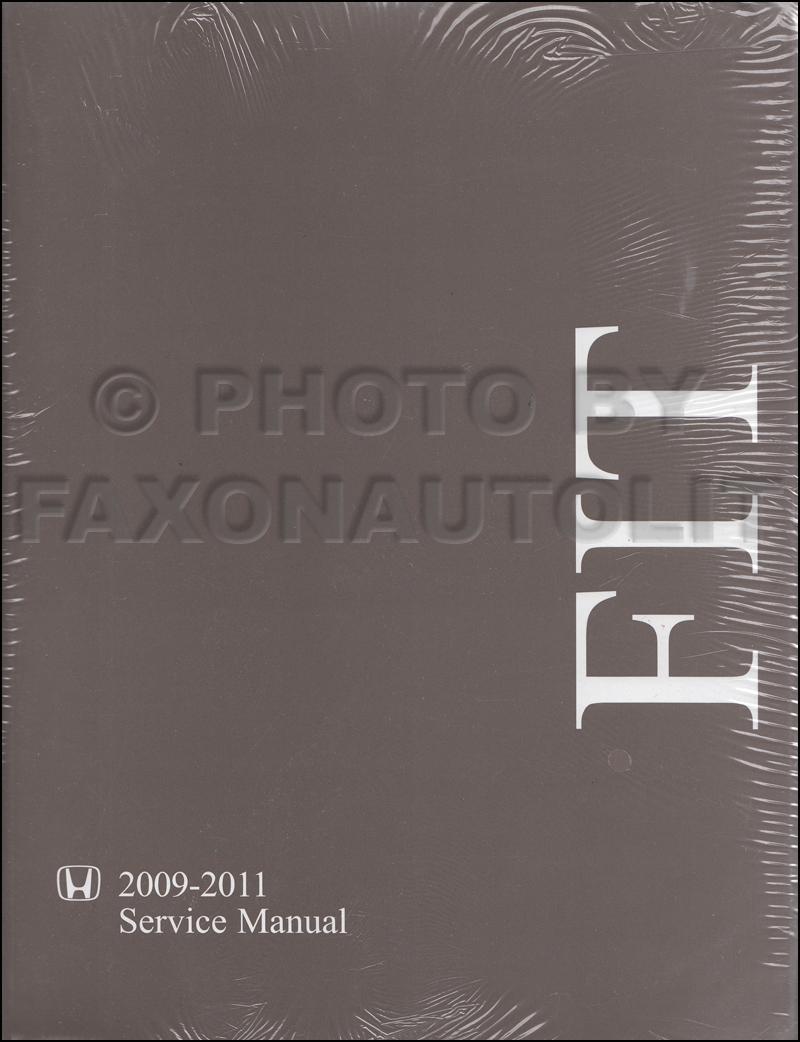 2009 2011 Honda Fit Repair Shop Manual Original