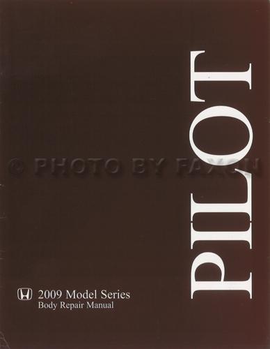 2009 2011 Honda Pilot Body Manual Original