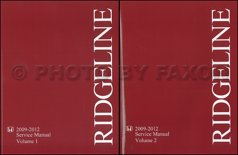 2009 2012 honda ridgeline repair shop manual original 2 volume set rh faxonautoliterature com 2009 Honda Ridgeline 2010 Honda Ridgeline