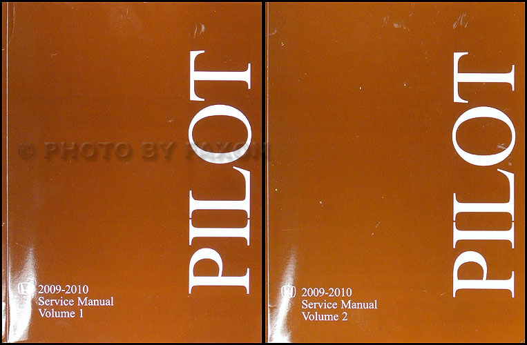 2009 2010 honda pilot repair shop manual original 2 volume set rh faxonautoliterature com 2009 honda pilot repair manual pdf manual honda pilot 2009 español