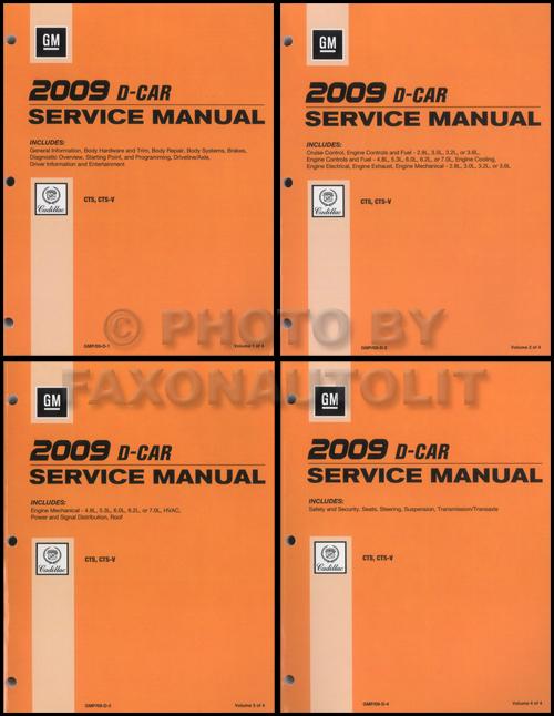 Cadillac CTS Repair Manual