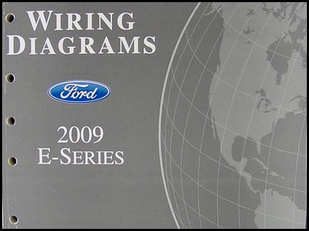 2009FordE SeriesOWD 2009 ford econoline van & club wagon wiring diagram manual original 2003 Ford E350 Fuse Diagram at readyjetset.co