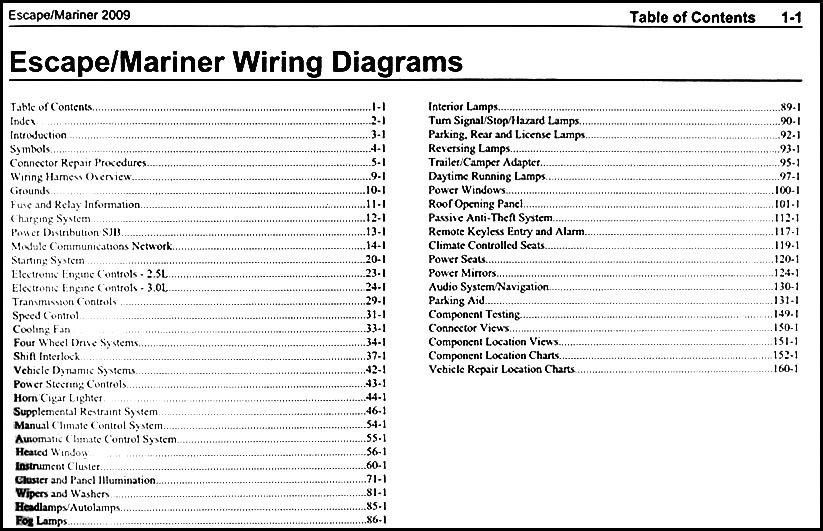 Fordescapeowd Toc on 1937 Ford Wiring Diagram