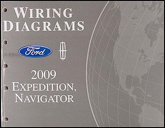 2009 expedition navigator wiring diagram manual original rh faxonautoliterature com