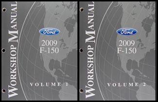 2009 Ford F-150 Repair Manual 2 Volume Set Original