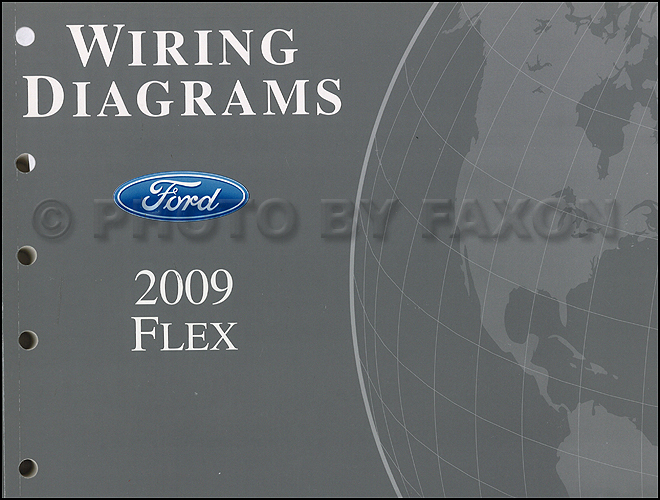 2009FordFlexOWD 2009 ford flex wiring diagram manual original 2009 ford flex fuse box diagram at fashall.co