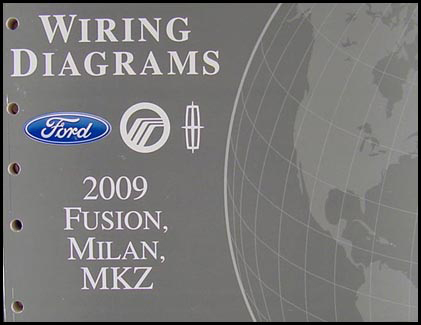 2009FordFusionOWD 2009 fusion milan mkz wiring diagram manual original