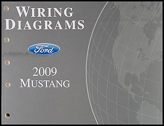 2009 ford mustang wiring diagram manual original. Black Bedroom Furniture Sets. Home Design Ideas