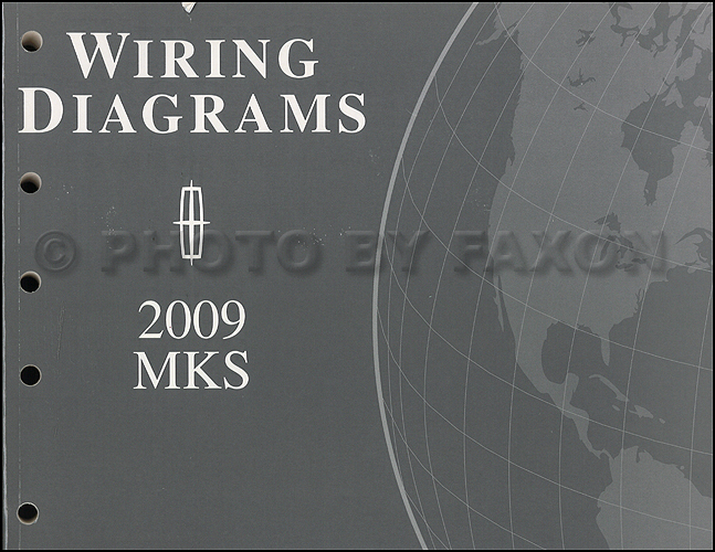 lincoln mks service manuals shop owner maintenance and repair 2009 lincoln mks wiring diagram manual original