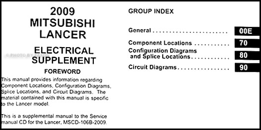2009 mitsubishi lancer wiring diagram manual original 2009 mitsubishi lancer wiring diagram manual original table of contents cheapraybanclubmaster Image collections