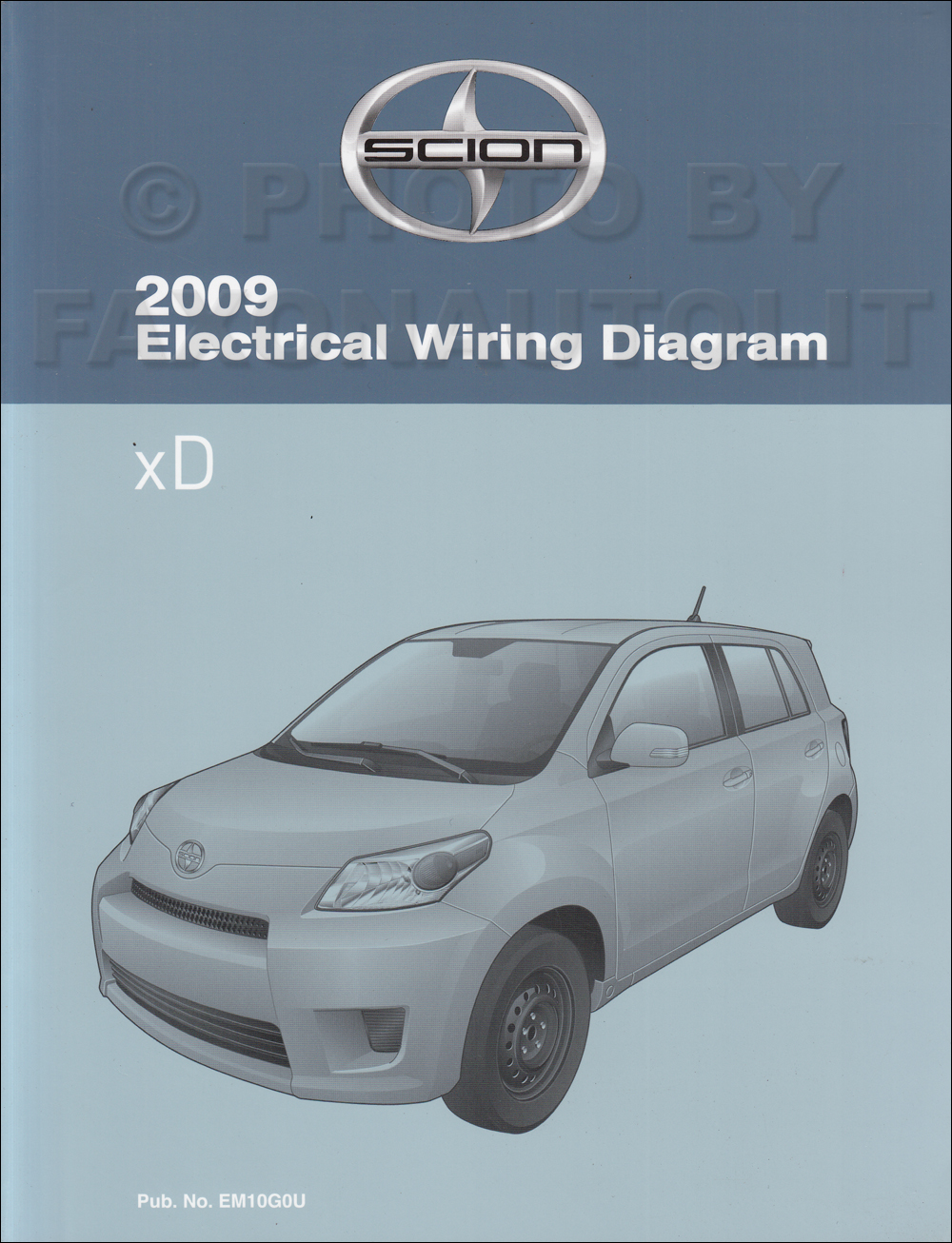 2009 Scion Xd Wiring Diagram Reveolution Of 2006 Xb Manual Original Rh Faxonautoliterature Com Interior