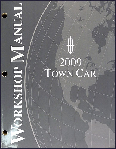 2009 lincoln town car repair shop manual original. Black Bedroom Furniture Sets. Home Design Ideas