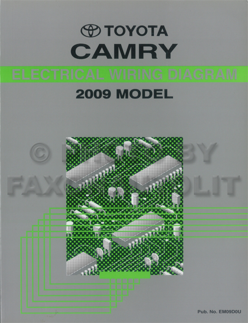 2009ToyotaCamryETM 2009 toyota camry wiring diagram manual original 2009 toyota camry wiring diagram at bakdesigns.co