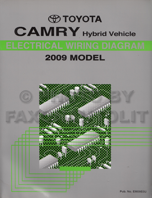 2009 toyota camry hybrid wiring diagram manual original rh faxonautoliterature com 2006 toyota highlander hybrid wiring diagram toyota auris hybrid wiring diagram