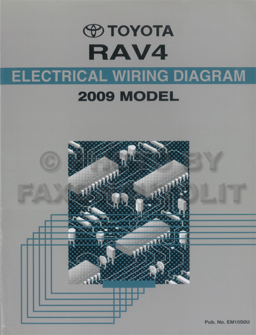 2009 Toyota Rav4 Wiring Diagram Manual Original