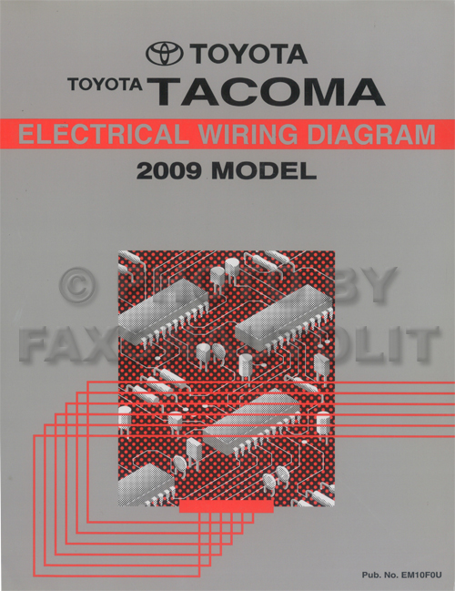 33 2009 Toyota Tacoma Parts Diagram