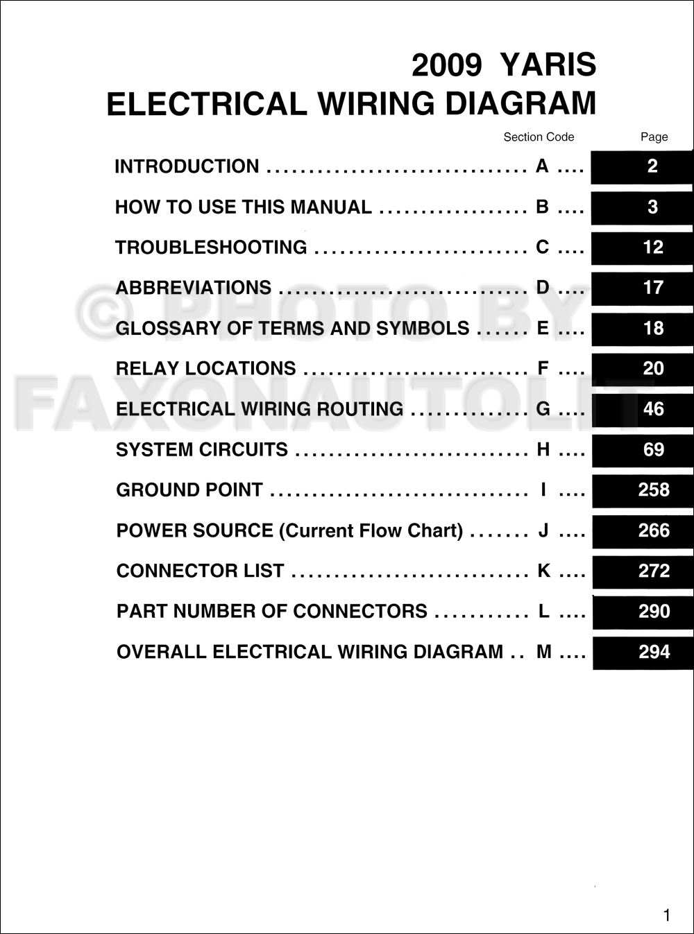 2009 toyota yaris wiring diagram manual original toyota radio wiring diagram pdf