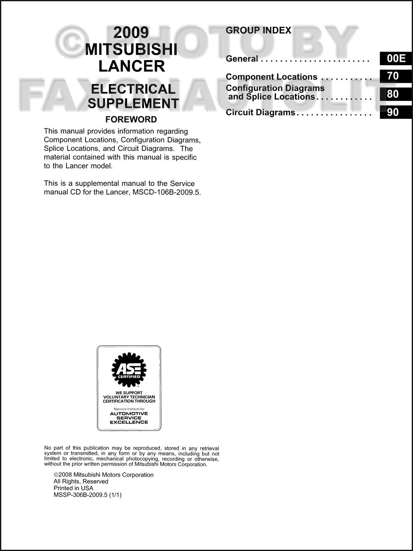 Modern mitsubishi lancer wiring diagram pictures best images for 20095 mitsubishi lancer wiring diagram manual original asfbconference2016 Image collections
