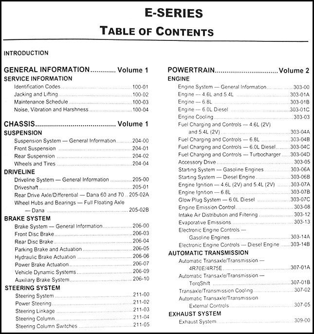 2010 ford econoline repair shop manual original set e150. Black Bedroom Furniture Sets. Home Design Ideas
