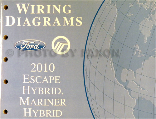2010 ford escape and mercury mariner wiring diagram manual original rh faxonautoliterature com 2013 Ford Escape Parts Diagram 2011 Ford Escape Fuse Diagram