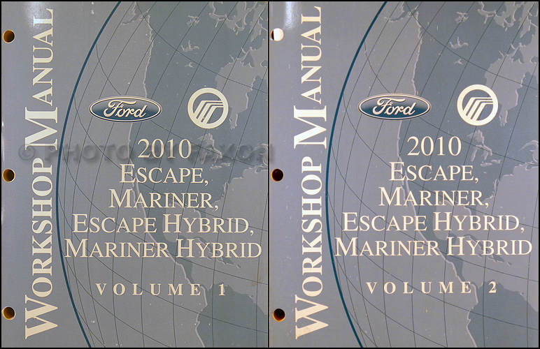 2010 escape mariner and hybrid repair shop manual original set rh faxonautoliterature com 2010 ford escape workshop manual pdf 2010 ford escape workshop manual pdf