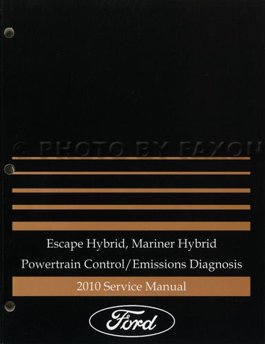 2010 Ford Escape Hybrid And Mercury Mariner Hybrid Wiring