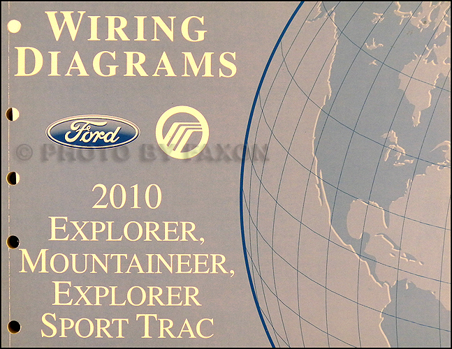 ford explorer sport trac service manuals shop owner 2010 ford explorer and sport trac mountaineer wiring diagram original