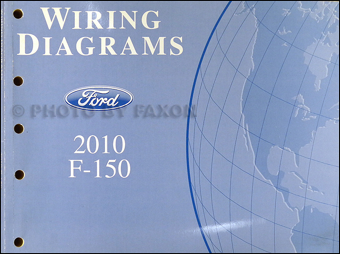 2010 ford f 150 wiring diagram manual original