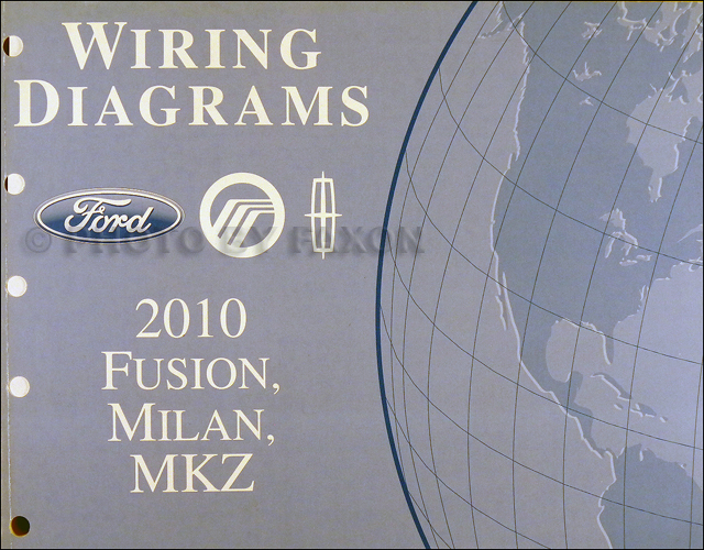 2010FordFusionMilanMKZOWD 2010 fusion milan mkz wiring diagram manual original 2010 Ford Fusion Engine at crackthecode.co