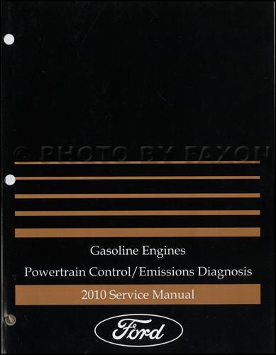 2010 Ford Gasoline Engine/Emissions Diagnosis Manual Original