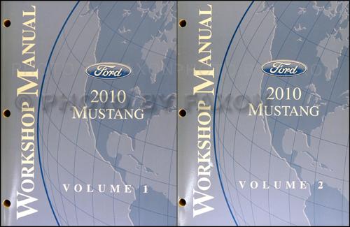 2010 Ford Mustang Wiring Diagram Manual Original