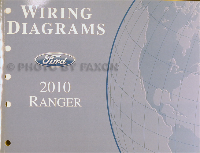 2010 ford ranger wiring diagram manual original. Black Bedroom Furniture Sets. Home Design Ideas