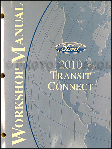 Ford transit connect repair shop manual original