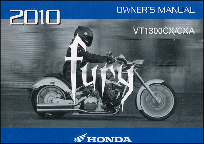 2010 honda fury motorcycle owner s manual original vt1300cx vt1300cxa rh faxonautoliterature com suzuki motorcycle owners manual download motorcycle owners manuals yamaha