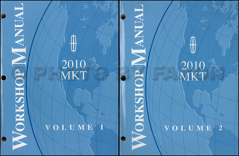 2010 Lincoln Mkt Wiring Diagram Manual Original