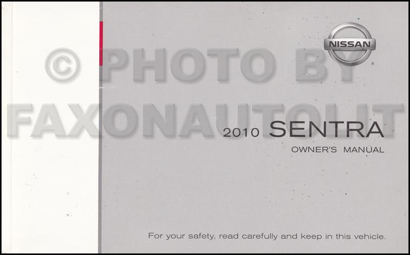 2010 nissan sentra repair manual