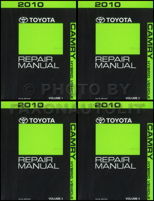 2010 toyota camry hybrid wiring diagram manual original related items
