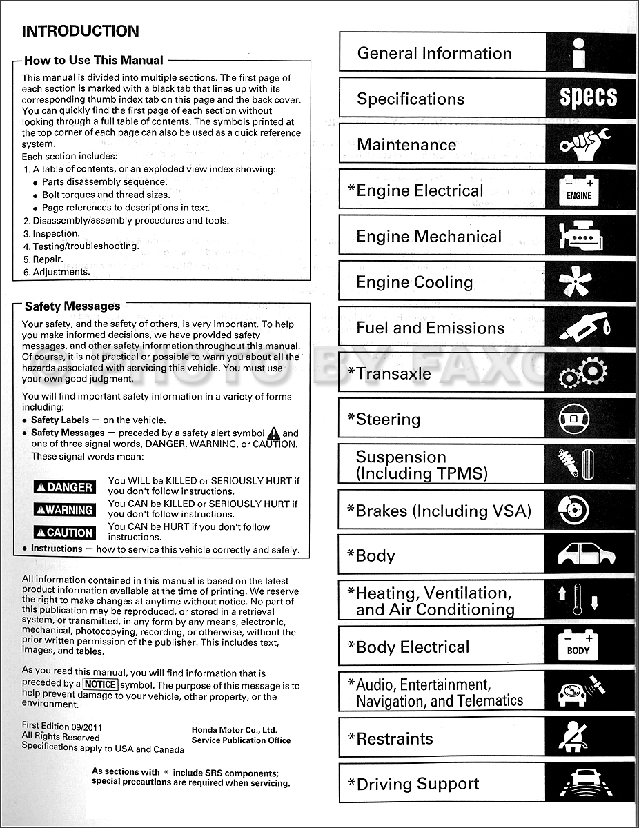 2011 12HondaOdysseyORMSet TOC wiring diagram for honda odyssey 2012 wiring diagram for honda honda odyssey wiring diagram 2011 at fashall.co