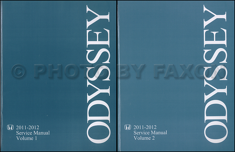 2011 2012 honda odyssey repair shop manual original 2 vol set rh faxonautoliterature com Honda Odyssey Interior honda odyssey repair manual 2005