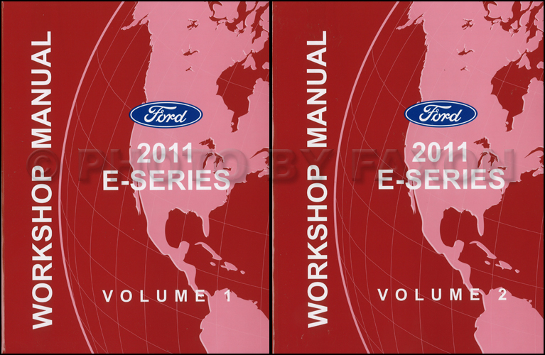 ford econoline shop manual set