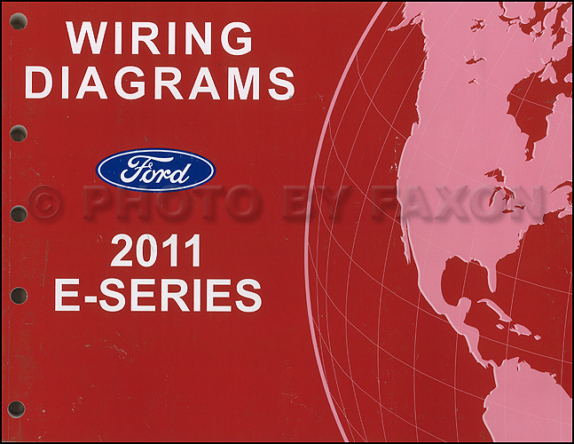 2011 Ford Econoline Wiring Diagram Manual Original Van E150 E250 E350 E450