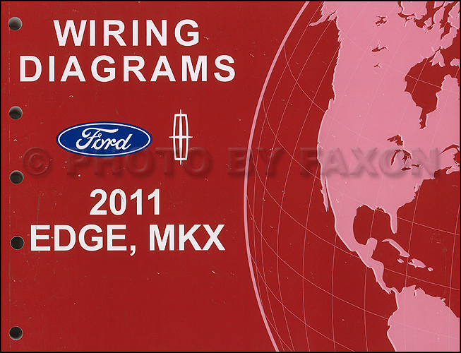 ford edge service manuals shop owner maintenance and repair 2011 ford edge lincoln mkx wiring diagram manual original