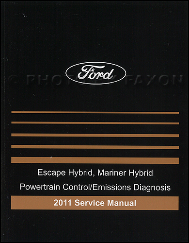 ford escape factory service manual