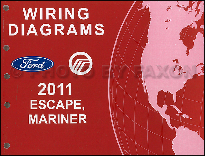 2011 ford escape mercury mariner wiring diagram manual original 2011 ford escape mercury mariner wiring diagram manual original for gasoline models