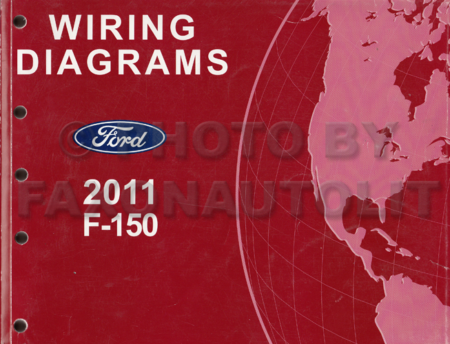 2011 ford f 150 wiring diagram manual original